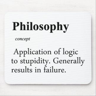 Definición de la filosofía tapete de raton