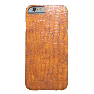 Definición de la piel del cocodrilo alta funda de iPhone 6 barely there