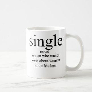 Definición de la sola taza de café