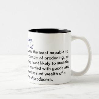 Definición de las tazas de café de Ineptocracy