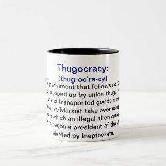 Definición de las tazas de café de Thugocracy