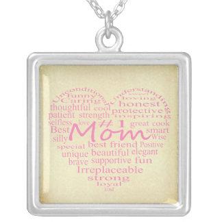 Definición de un esquema del Madre-Corazón por Collar Plateado