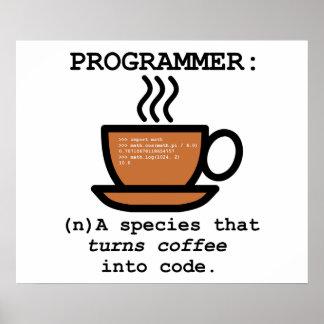 Definición de un informático - poster del friki
