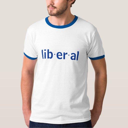 Definición de un liberal remera