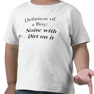 Definición de un muchacho camiseta