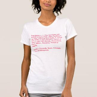 Definición de una camisa de las señoras del
