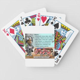 Definición del abejón cartas de juego
