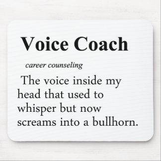 Definición del coche de la voz tapetes de ratón