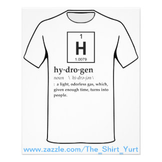 Definición del hidrógeno tarjetón