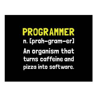 Definición del programador postal