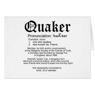 Definición del Quaker