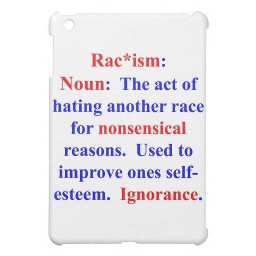 Definición del racismo
