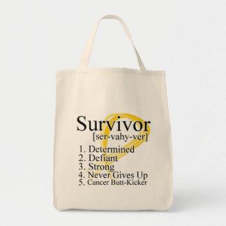 Definición del superviviente - cáncer de la niñez bolsas