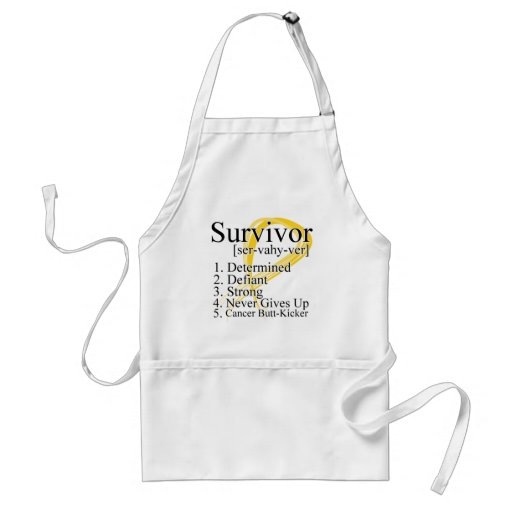 Definición del superviviente - cáncer de la niñez delantal