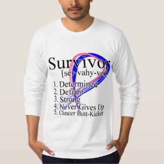 Definición del superviviente - cáncer de pecho camisas