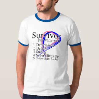 Definición del superviviente - cáncer de pecho playeras