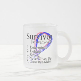 Definición del superviviente - cáncer de pecho taza de cristal