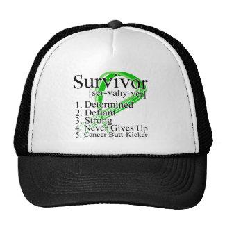Definición del superviviente - cáncer del riñón gorras