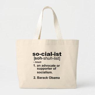 definición socialista bolsas de mano