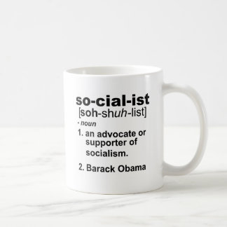 definición socialista tazas de café