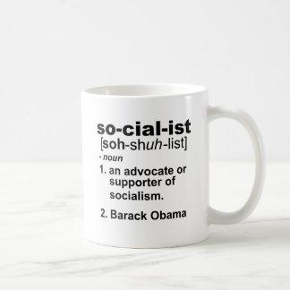 definición socialista taza clásica