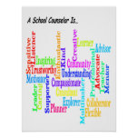 Defining a School Counselor 18.24 Poster