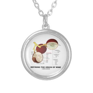 Defining The Origin Of Wine (Wine Grape Berry) Pendants