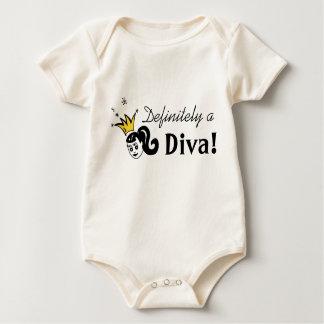 Definite Diva Baby Bodysuit