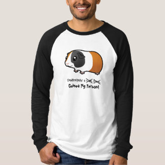 Definitely a Guinea Pig Person (smooth hair) T-Shirt