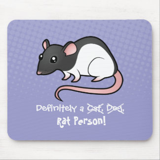 Definitely a Rat Person Mouse Pad
