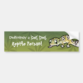 Definitely a Reptile Person Bumper Sticker