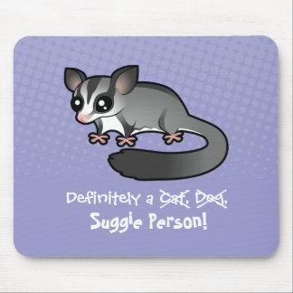 Definitely a Sugar Glider Person Mouse Pad
