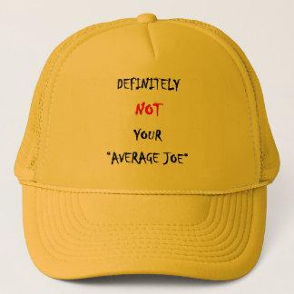 """DEFINITELY NOT YOUR """"AVERAGE JOE"""" TRUCKER HAT"""