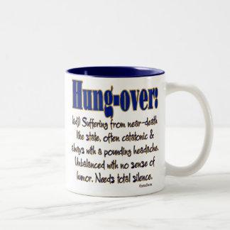 Definition Hung-over Two-Tone Coffee Mug