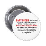 Definition of a Bartender Button