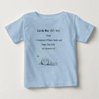 Definition of a Little Boy Baby T-Shirt