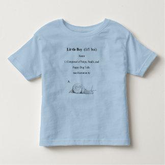 Definition of a Little Boy T-shirt