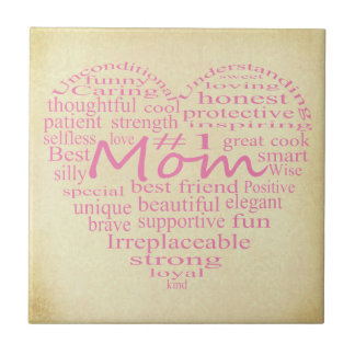 Definition Of A Mother-Heart Outline by STaylor Tile