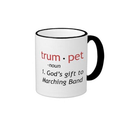 Definition of a Trumpet Ringer Coffee Mug