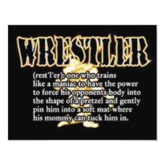 Definition of a Wrestler Card