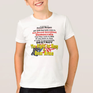 Definition of Assault Weapon Kid's T Shirt