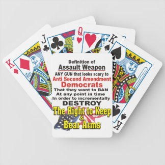 Definition of Assault Weapon Playing Cards