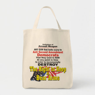 Definition of Assault Weapon Tote Bag