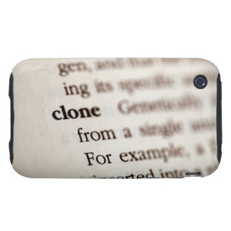 Definition of clone iPhone 3 tough cover