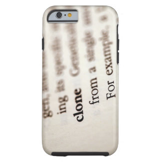 Definition of clone tough iPhone 6 case