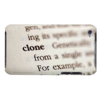 Definition of clone barely there iPod case