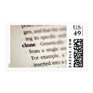 Definition of clone postage stamp