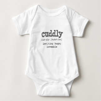 Definition of Cuddly - Lil Personalitee Baby Bodysuit