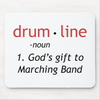 Definition of Drumline Mouse Pad