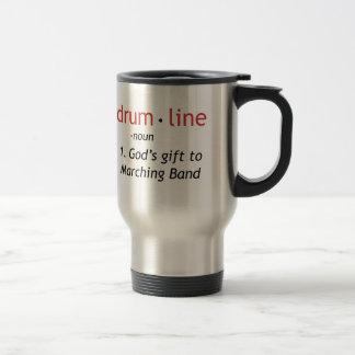 Definition of Drumline Travel Mug